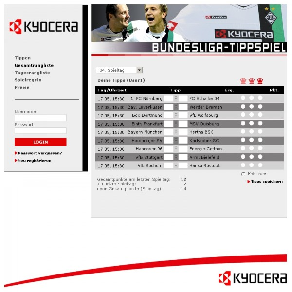 Bundesliga Tipp Ergebnisse
