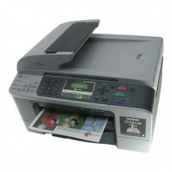 Brother MFC-5860CN: MFC with sizable stock of paper.