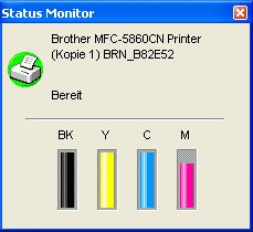 Brother MFC-5860CN and MFC-845CW