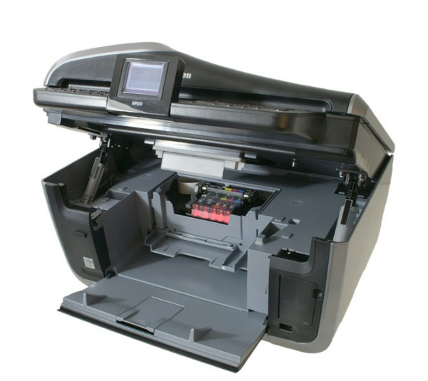 Canon Pixma MP830: Wide and easy opening - effortless exchange of cartridges.