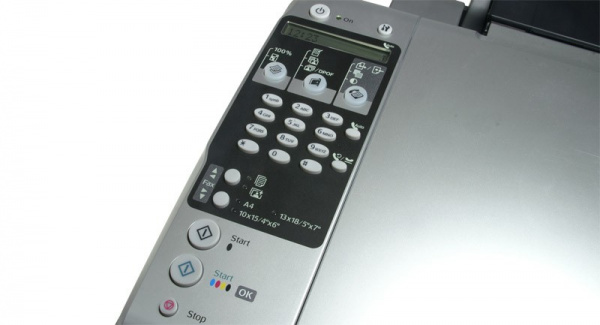 Epson Stylus DX7000F: Handling takes getting used to, lacks a preview display.