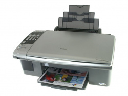 Epson Stylus 7000F: First ink-AIO with fax.