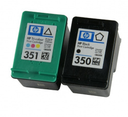 HP: The Officejet J5780 comes with small cartridges...
