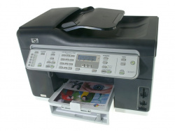 HP Officejet Pro L7580: Fit for large print-jobs.