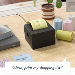 Amazon Smart Sticky Note Printer: Drucker für Notizzettel hört auf Alexa.