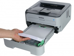 Brother HL-2150N: Proper paper feed...