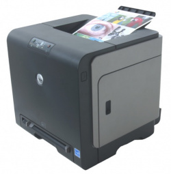 Dell Color Laser Printer 1320c:  Matt black finish with inexpensive network option.