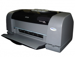 Epson C66: Used to show the procedure.