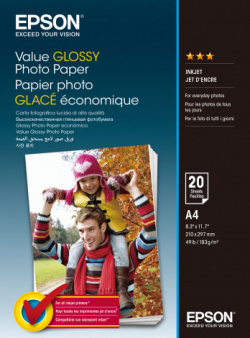 Value Glossy Photo Paper: Epson-Fotopapier.