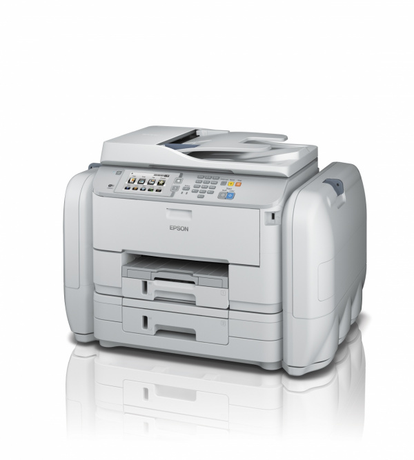 Epson WorkForce Pro RIPS-Drucker: Mit dem RIPS-System (Replaceable Ink Pack System) sollen die neuen Epson-Drucker bis zu 75.000 Seiten bedrucken können, ohne die Verbrauchsmaterialien tauschen zu müssen.