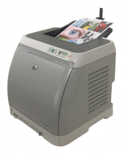 HP Color Laserjet 1600: Inexpensive but slow.