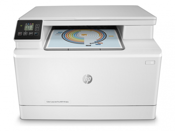 HP Color Laserjet Pro MFP M182n: 3-in-1-Version, ohne ADF.