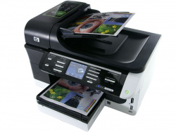 HP Officejet Pro 8500 Wireless AIO: Copying via feed or flatbed scanner.