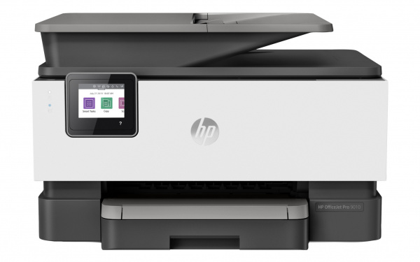 HP Officejet Pro 9010: Multifunktions-Tintendrucker mit Duplex-ADF.