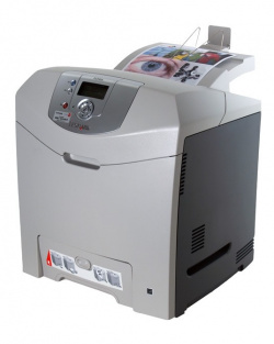 Lexmark C530dn: With automatic duplexer and network.