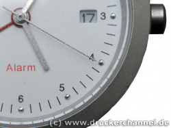 Scannertest: Photo of a watch made by digital camera.
