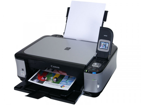 Canon Pixma MP560: Well-equipped Wlan-printer.