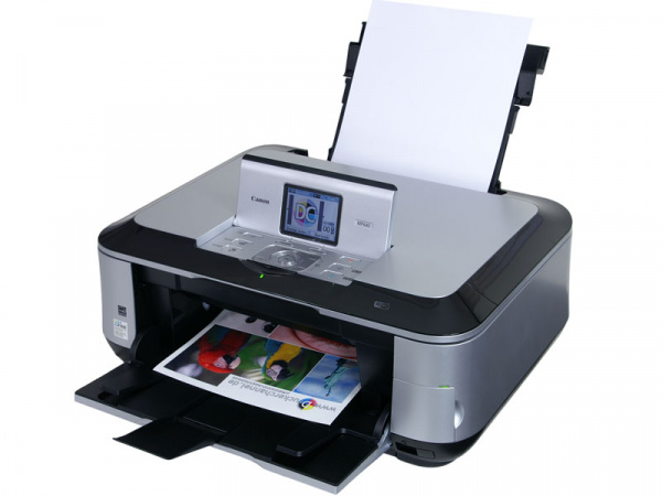 Canon Pixma MP640: Almost perfect outfit - only an automatic document feeder (ADF) and a fax are missing.