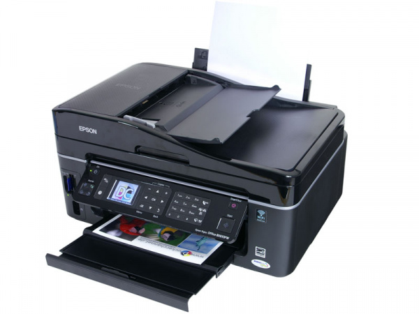 Epson Stylus Office BX610FW: Good cost/performance ratio.