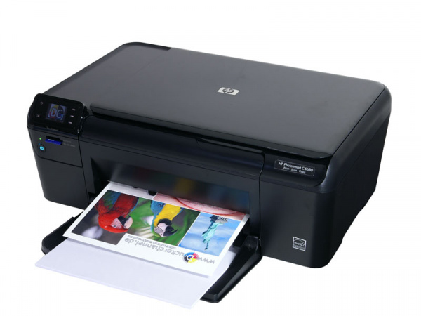 HP Photosmart C4680: Basic AIO with single ink-tank.