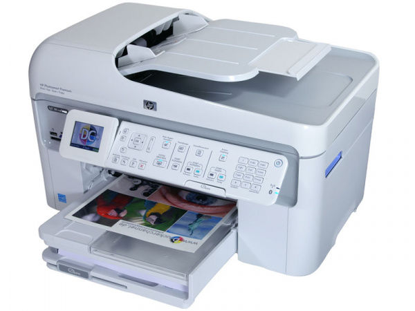HP Photosmart Premium Fax C309a: Pretty expensive but with very good outfit.