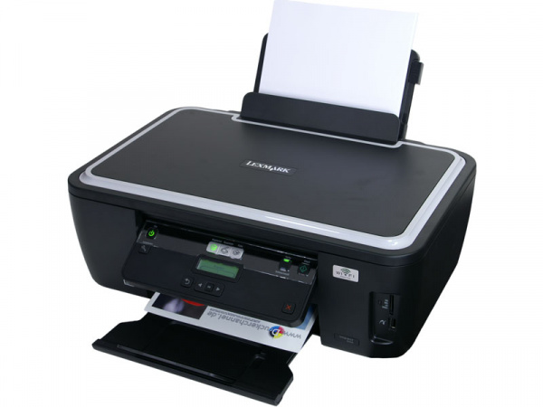 Lexmark Impact S305: For the first time single ink tanks and permanent print head.